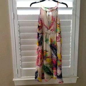 5th Culture  Floral Print Dress